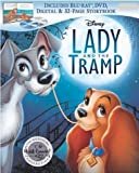 Blu-ray Lady and the Tramp Signature Collection Exclusive (Blu-ray + DVD + Digital) with 32-page Storybook