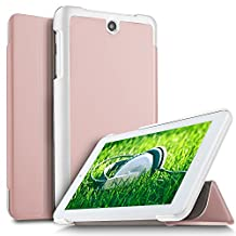 ACER Iconia One 7 B1-7A0 Case, KuGi Ultra Lightweight Slim Smart Cover Case for Acer Iconia One 7 B1-7A0 SD 7-Inch Tablet -ROSEGOLD