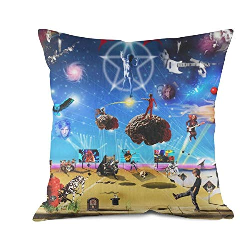 Go Hps2 18X18 Inch Pillow Case,Graphic Printed Music Fan Throw Pillow Cover Cotton Square Decorative Pillow Case
