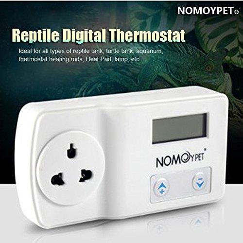 Contr™leur de tempŽrature NOMOY 220-240V Reptile Thermostat numŽrique Heat Pad Mat Lampe Terrarium Buckdirect Worldwide Ltd.
