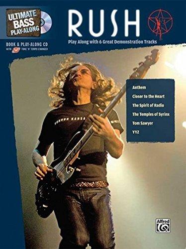 Bass Guitar Tab Cd (Ultimate Bass Play-Along Rush: Play Along with 6 Great Demonstration Tracks (Authentic Bass TAB), Book & CD (Ultimate Play-Along))