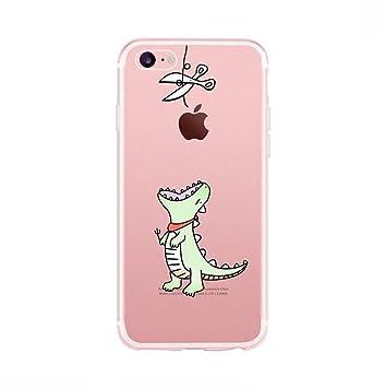Amazon.com  Iphone 7 plus Cat Clear Case 90dbe204f6
