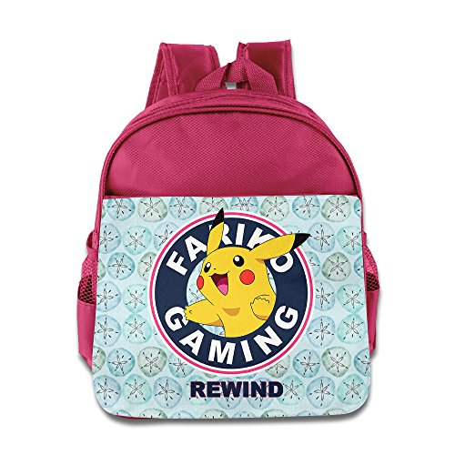 AALEXXJI1 Pokemon Go Pika Pika Kids/Children School Backpacks/Bags For Unisex