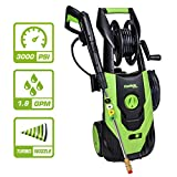 PowRyte Elite 2100 PSI 1.80 GPM Electric Pressure Washer, Electric Power Washer