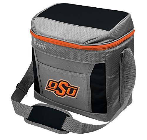 (NCAA Oklahoma State Cowboys Unisex NCAA 16 Can Soft Sided Cooler, Grey )