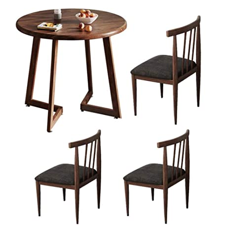 Amazon.com: Juego de mesa y sillas de comedor, mesas de ...