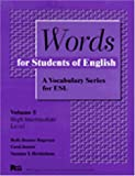 Words for Students of English : A Vocabulary Series for ESL, Rogerson, Holly D. and Hershelman, Suzanne T., 0472083651