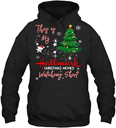 Holiday Sweater Christmas sweatshirt Hallmark Movie Shirt Off Shoulder Top