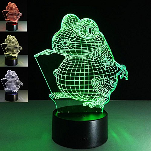Acrylic Frog Led Light in US - 1