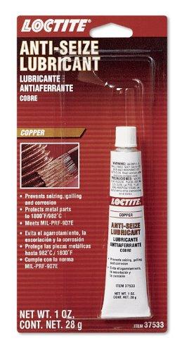 Loctite 495542 Copper Anti-Seize Lubricant Tube, 1-oz.