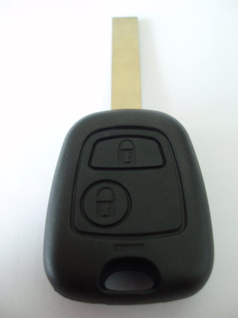 Replacement 2 button key fob case for Citroen C1 C2 C3 C4 C6 Xsara remote key fob