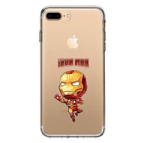coque iphone 8 plus iron man