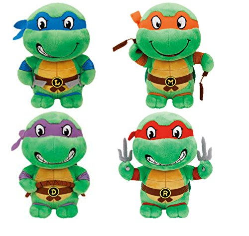 TY Teenage Mutant Ninja Turtles (Set of 4)]()