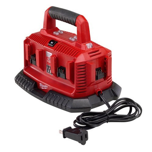 Milwaukee 48-59-1806 M18 18V Six Port Lithium-Ion Charger