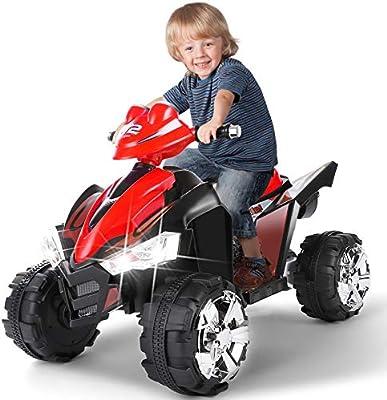 Electric Vehicles For Kids >> Artist Hand 12v Kids Ride On Cars Electric Vehicles Power Wheels For Kids 2 Speeds Head Lights 4 Wheels Red