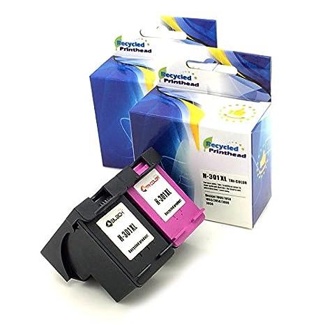 2 x cartuchos de Tinta Remanufacturados para HP 301 XL negro y ...