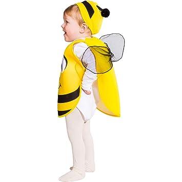 Encantador Disfraz de abejita para niño Compuesto por Capa y Gorro ...