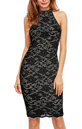 Knee Length Lace Wedding Dress - 2