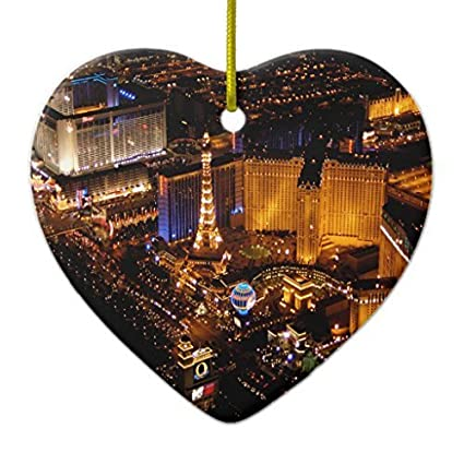 perfect christmas ornament crafts las vegas aerial view taken from a blimp ornament heart ornament xmas