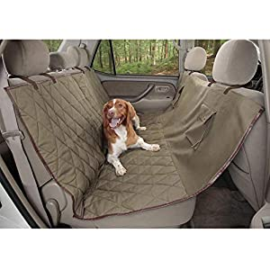 PetSafe Solvit Deluxe Pet Seat Cover- For Car, Truck, and SUV Use - Available in Hammock and Bench Styles 102