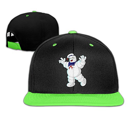 EVALY Teenager Stay Puft Marshmallow Man Mesh Dancing Cap -