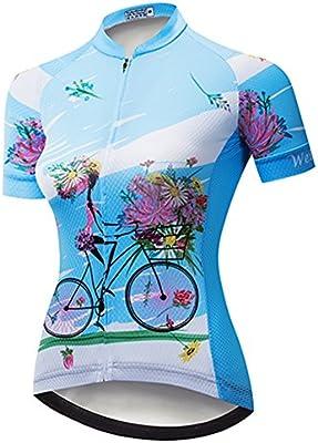 Weimostar Cycling Jersey Women Cycling Clothing Bike Short T-Shirt Bicycle Top