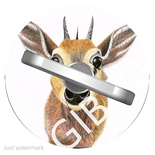 Antelope Stand - Cell Phone Ring Holder Stand Antelope, Phone Grip Car Mounts 360 Degree Rotation with Finger Ring for iPhone X, 8, 7, 6s, Plus, Samsung Galaxy S6 S7, Note, LG 1Y40