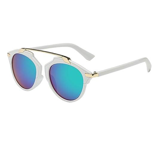 QHGstore Frauen Männer Vintage Sonnenbrillen Outdoor Brillen Brillen Kunststoff Rahmen #12 HoYpdr7