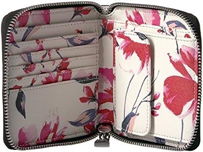Ivanka Trump Mara Zip Around Indexer-floral Print Wallet