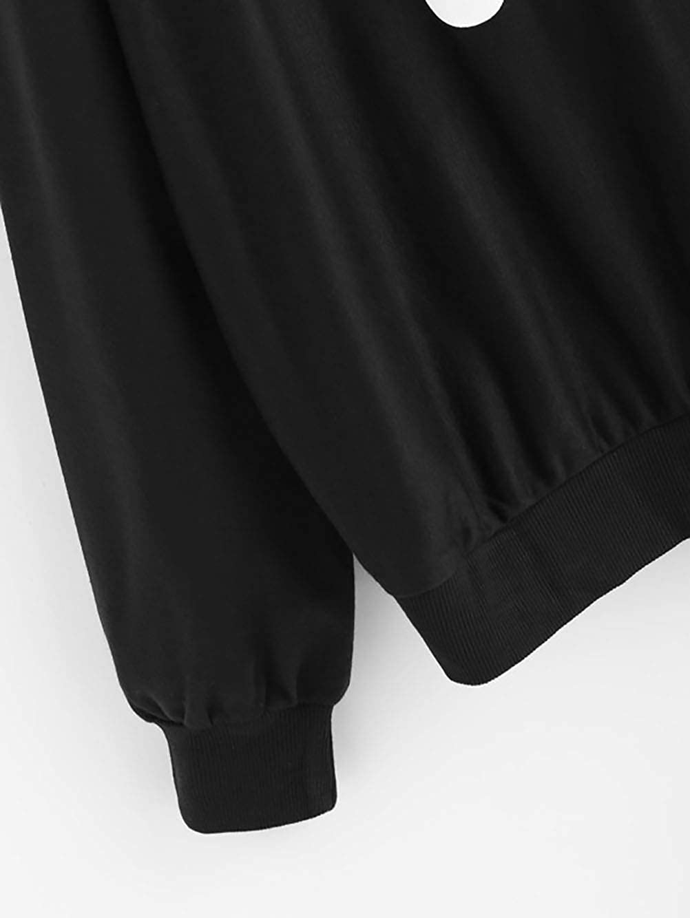 ADLISA Im So Freaking Cold Womens Hoodie Long Sleeve Letter Print Loose Sweat Shirt Blouse
