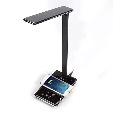 Lámpara de mesa LED de escritorio luz oficina con función de ...