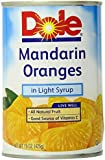 Dole Mandarin Oranges, 15 Ounce (Pack of 6)