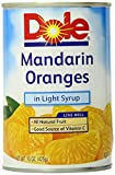 Dole Mandarin Oranges, 15 Ounce (Pack of 6)