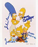 The Simpsons Autographed Cast Autographed REPRINT 11x14 inch Photo RP