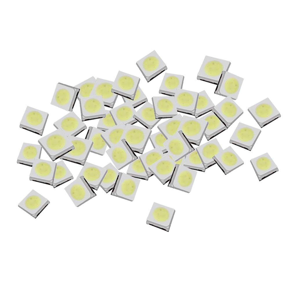 10X LED SMD 3535 Licht Weiß Hohe Helligkeit 6500K 3V Dioden Plcc