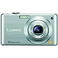 Panasonic Lumix DMC-FS15 12MP Digital Camera with 5x MEGA Optical Image Stabilized Zoom and 2.7 inch LCD (Silver) Review Review Image