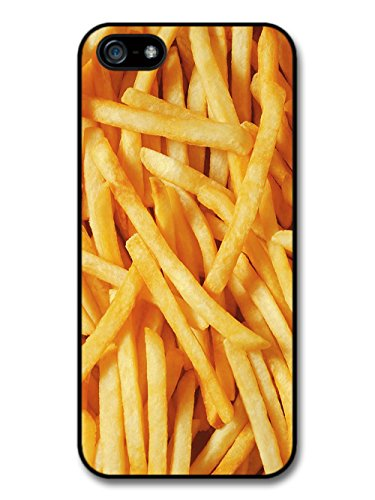 French Fries Close Up Food Potato coque pour iPhone 5 5S