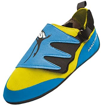 6ff7919b3d2c0a Mad Rock Mad Monkey 2.0 Kids Climbing Shoes (Strap) - Blue Yellow (1.0 M  US) by Mad Rock  Amazon.co.uk  Sports   Outdoors