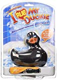 Big Teaze Toys I Rub My Duckie Personal Massager, Black