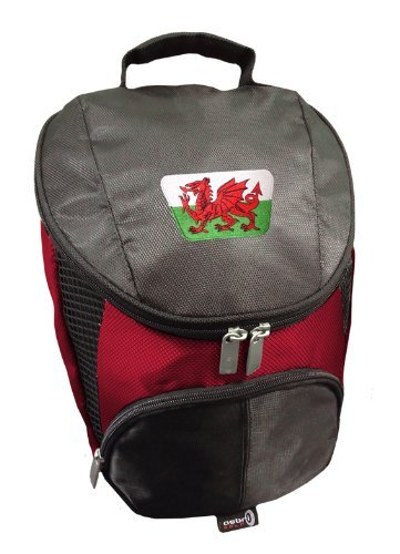 Sherpashaw,Wales Golf Shoe Bag with FREE Sherpashaw Tees by Sherpashaw