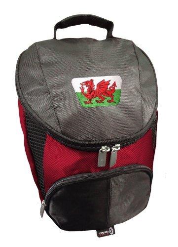 Sherpashaw,Wales Golf Shoe Bag with FREE Sherpashaw Tees