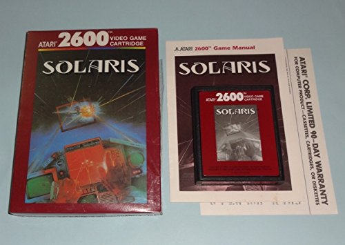 Solaris (Atari 2600 System Vintage Game)