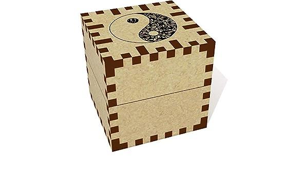 Azeeda Pequeña Símbolo Abstracto de Yin Yang Joyería Caja (JB00028411): Amazon.es: Juguetes y juegos