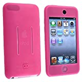 Insten Hot Pink Durable Soft Silicone Skin Cover Case Compatible With Apple iPod touch Itouch 8Gb 16GB 32Gb 2G 2nd Generation
