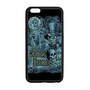 "Classic Style Custom Silicone Hard Rubber Protector Case for iPhone6 Plus 5.5"" - The Haunted Mansion"