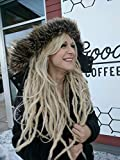 Dreadlock Wig. Custom Made to Order Dread Wig. Shaggy Fringe. Your Color Choice