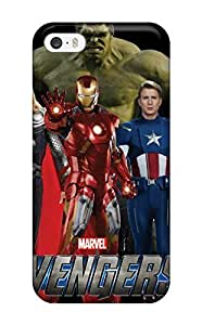 Excellent Iphone 5/5s Case Tpu Cover Back Skin Protector The Avenger Art