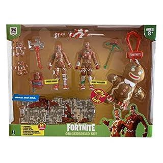 Fortnite Gingerbread Set 2 Figure-Pack - Merry Marauder & Ginger Gunner