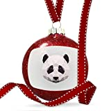 Christmas Decoration Low Poly Animals Modern design Panda Bear Ornament