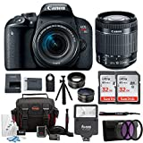 Canon EOS Rebel T7i Digital Camera: 24 Megapixel 1080p HD Video DSLR Bundle with Wide Angle 18-55mm Lens 64GB Mini Tripod Filter Kit & Flash – Professional Vlogging Sports & Action Cameras Review